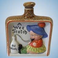"""German Schafer and Vater """"A Wee Scotch"""" Liquor Flask"""