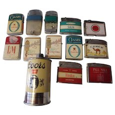 Cigarette Lighters Vintage Collectibles | Ruby Lane
