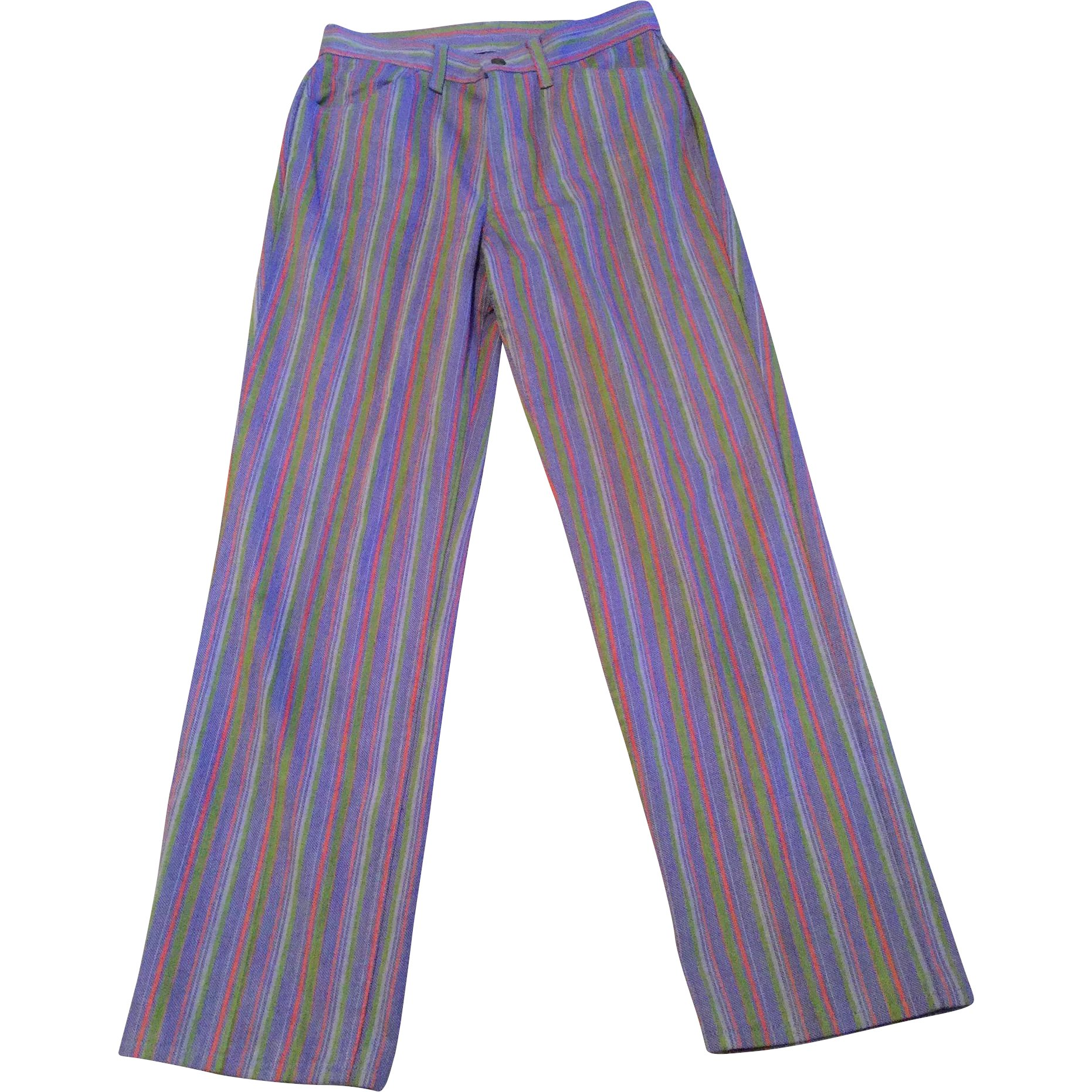 84dbb6be Vintage 1960's 70's Big E Levi's Sta-Prest Purple Stripe Jeans : Kim's  Collectibles | Ruby Lane