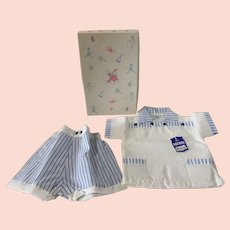 Vintage 1940's or 50's Nuday Creations Baby Outfit New in Box