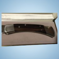 Vintage 110 Buck 25 th. anniversary knife in box 1963 To 1988
