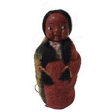 Vintage Skookum Doll Tape Measure