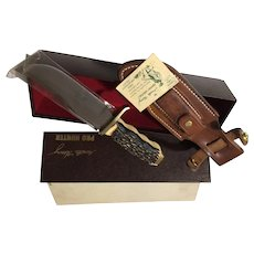 Vintage Schrade Model USA 170-U hunting knife in box Pro-Hunter