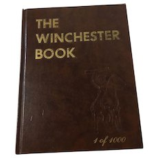 1979 The Winchester Book Signed by Author George Madis