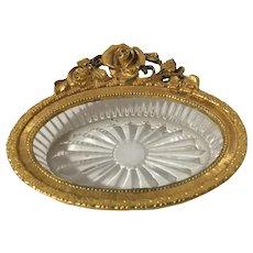 Vintage Matson Gold Gilt Trinket or Soap Dish