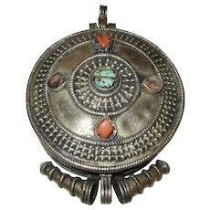 Antique Tibetan Buddhist Gau