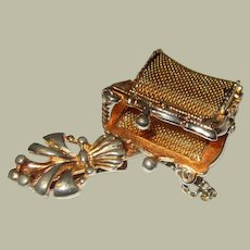 Victorian Chatelaine Coin Purse