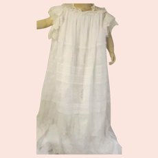 Breathtakingly Beautiful Child's Antique Lace Gown