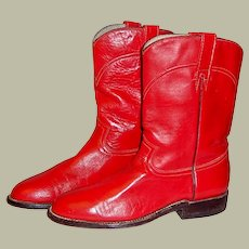 Vintage Red, Hand Made, Cowtown Boots
