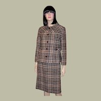 Jack Clarke-Hand-Tailored Women's Plaid Suit-Dublin, Ireland