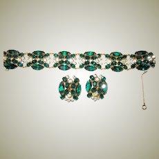 Exquisitely Detailed Bracelet and Earring Set (Austria)
