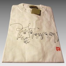 John Lennon T-Shirt from the John Lennon Museum in Tokyo, Japan