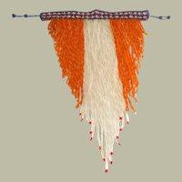 Masterpiece of Wearable Art-OOAK-Bohemian Hand-Beaded Bib Necklace