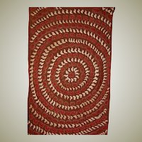 Hand Made and Hand-Appliqued Child's Baby Animal Coverlet ( of African Origin)