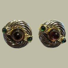 """""""Maresco"""" 1980's Vintage, Clip-On Earrings"""