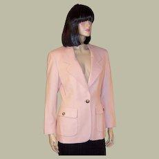 Michael Kors-Luscious Pink Single-Breasted Blazer