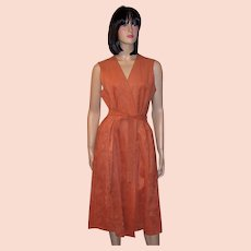 1970's Halston Ultrasuede Tunic Dress