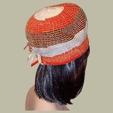 Unusual Mr. John Jr. Velvet Ribbon Hat for Saks Fifth Avenue