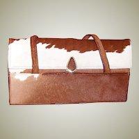 1960's Genuine Pony Skin Handbag