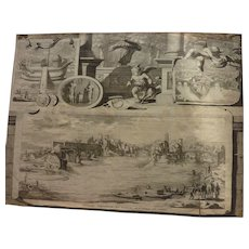 Van der Aa Pieter (1659 - 1733) Dutch noted map atlases publisher map of Rome Italy