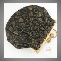 1930's Silk Brocade Purse *Pretty & Petite