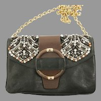Valentino Caravan Beaded Handbag Purse