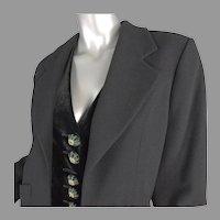 1980's Christian Dior Boutique Paris Jacket No. 79351