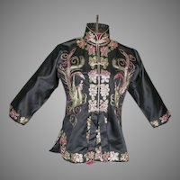 1930's Chinese Embroidered Jacket Handmade