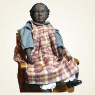 "African American Artist Doll-22"" tall"