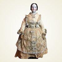 "21"" Antique Bun China- Fantastic Outfit- On Sale!"