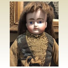 "19"" Sad Face Bisque Doll By ABG-Special Price!!!"