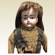 """19"""" Sad Face Bisque Doll By ABG-Special Price!!!"""
