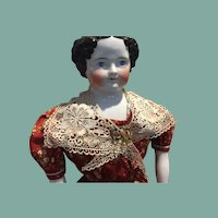 "Antique Huge China Head Doll-31""Tall-FREE Shipping!"