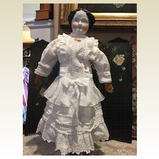 "Antique China Head -24""Tall Special Sale!"