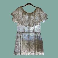 Amazing Antique Lace Dress