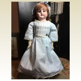 """Adoreable 16"""" Tall Antique bisque Doll"""