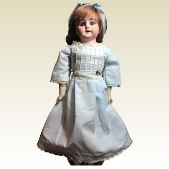 "Adoreable 16"" Tall Antique bisque Doll"