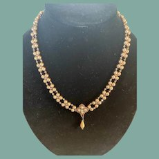 "Contemporary Artist Made 20"" Necklace"