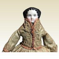 "Exquisite Dressed Petite China-12"" Tall"