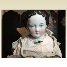 "Sweet 17"" Antique China Head Doll"