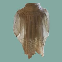 Antique Silk Baby/Doll Dress