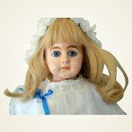 "Antique Paper Mache Doll-29"" Tall"