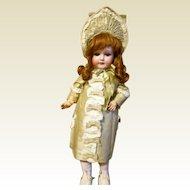 "21"" Antique CM Bergman Doll Beautifully Dressed!- SPECIAL PRICE!!!"
