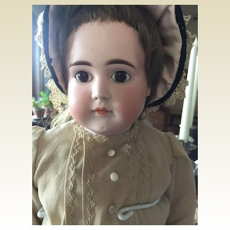 """Sweet Closed Mouth Kestner -26"""" Tall"""