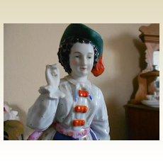 Exquisite Conta & Bohme Antique Porcelain Large Fairing or Tobacco Jar