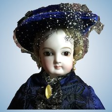 "14"" Antique Jumeau French Fashion Doll-TLC"