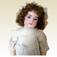 "Antique Bisque Floradora Doll -All Original 20"" Tall"