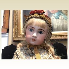 "30"" Tall Exquisite 1907 Jumeau Doll"