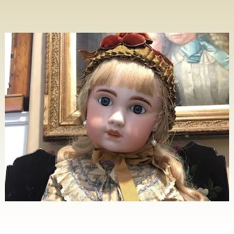 """30"""" Tall Exquisite 1907 Jumeau Doll"""