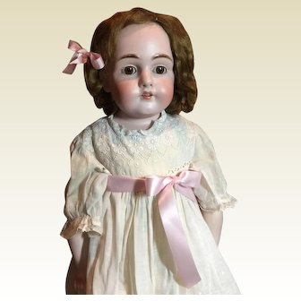 "Gorgeous 27"" Kestner Bisque Doll- CLEARANCE PRICE!"
